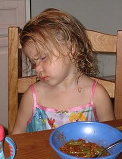 Narcoleptic Child